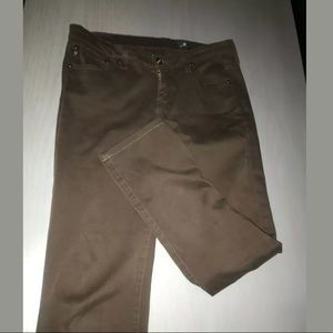 AG Adriano Goldschmied Brown Skinny Pants Sz 27 R